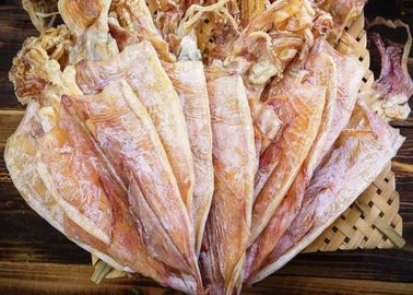 Healthy Semi Dried Squid , Todarodes Pacificus Dried Squid 18% - 20% Moisture
